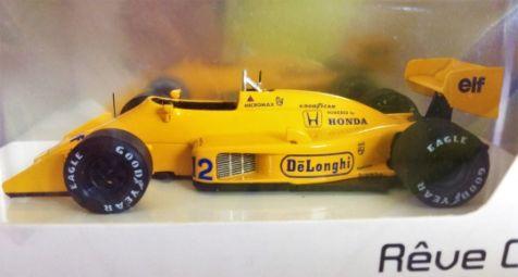 1:43 Minimax - Lotus 99T 1987 Monaco GP Winner - no 12