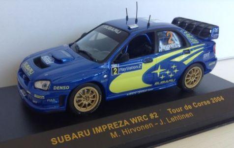 1:43 IXO Subaru Impreza WRC #2 Tour de Corse 2004 RAM157