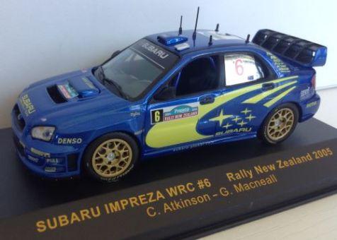 1:43 IXO Subaru Impreza WRC #6 Rally New Zealand 2005 RAM187
