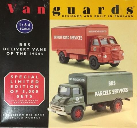 1:64 Vanguards BRS Delivery Vans of the 1950s RS1002