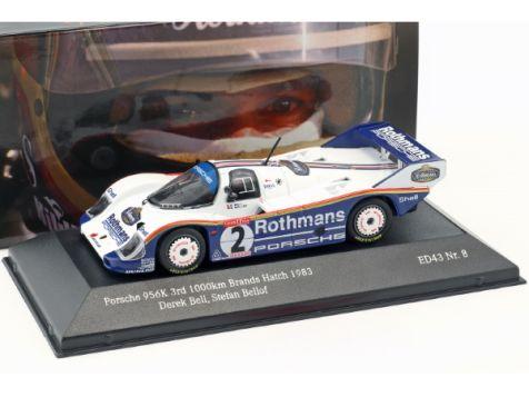1:43 CMR 1983 Porsche 956K #2 Bellof/Bell 1000Km Brands Hatch