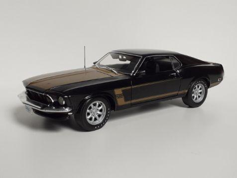 1:18 Highway 61 1969 Ford Mustang Boss 302 Smokey Tribute *SG*