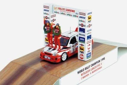 1:43 VITESSE Mitsubishi Lancer Evo V. World Champion 1998 SKW99001