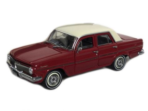 1:43 Trax 1963 Holden EH Special Sedan Winton Red/Fowlers Ivory TO01