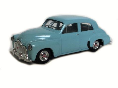 1:43 Trax 1948 Holden 48/215 'FX' Sedan in Powder Blue TR15B