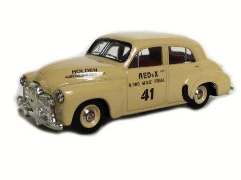 1:43 Trax 1948 Holden 48/215 'FX' Sedan - Redex Trial 1953 TR15C