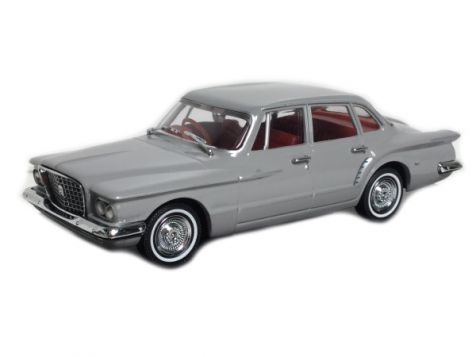 1:43 TRAX 1962 Chrysler R Series Valiant in Gloster Grey, Red Int. TR35E
