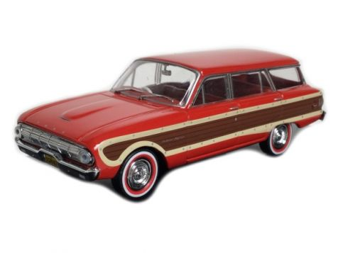 1:43 Trax 1962 Ford XL Falcon Squire Wagon Waratah Red TR38D