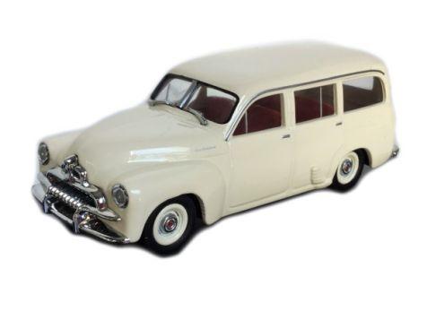 1:43 Trax 1954 Holden FJ Station Wagon - Cream - TR65
