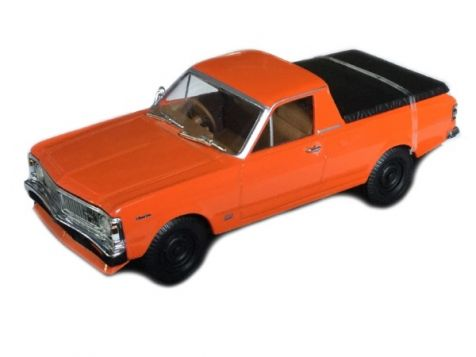1:43 TRAX - Ford XY Falcon 4WD Ute in Vermillion Fire - TR67C