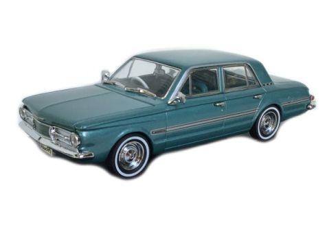 1:43 TRAX 1965 AP6 Valiant Regal Sedan - Medium Turquoise Metallic/ Green Aqua interior TR81B