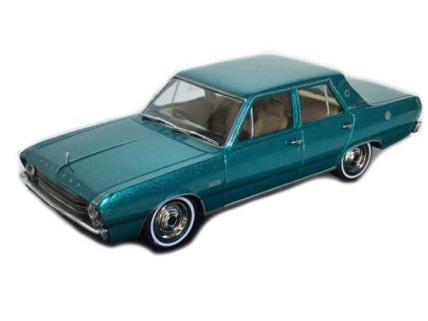 1:43 TRAX 1969 Chrysler VF Valiant Regal in Crystal Turquoise Metallic - TR91