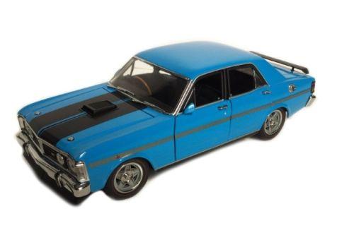 1:24 TRAX 1971 Ford XY Falcon GTHO Phase III in True Blue