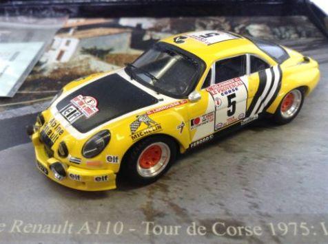 1:43 Trofeu Alpine Renault A110 Tour de Corse 1975 LMA.03