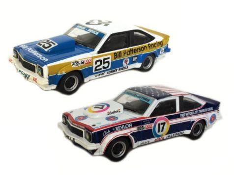 1:43 TRAX - Bathurst 1977 Twin Set - A9X Torana  - #17 (Rutherford/Guthrie) & #25 (Brock/Brock) - TRS28