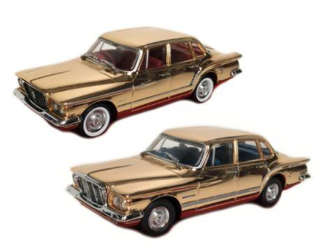 1:43 Trax 1962 R & S Series Valiant - 50th Anniversary Gold Twin Set