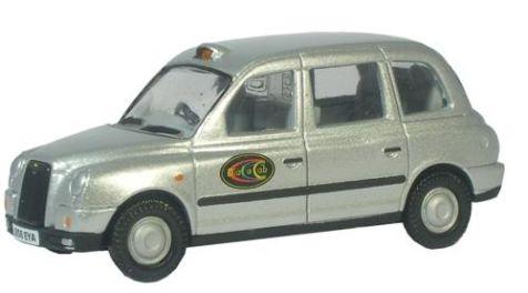 1:43 Oxford Diecast TX4 Taxi Dial a Cab TX4004