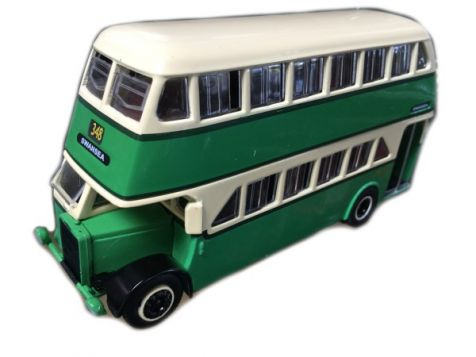 1:76 TRUX - 1948 Leyland OPD2 Double Decker Bus - Route 348 - TX5B
