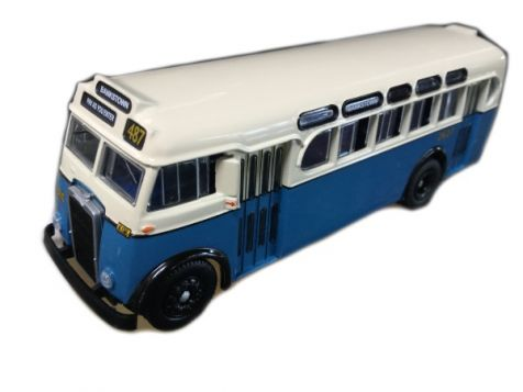 1:76 TRUX - 1952 Leyland Tiger OPS2 Single Deck Bus - Route 487 - TX7