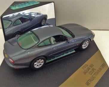 1:43 Vitesse Jaguar XK8 Coupe in Metallic Titanium Grey V101B