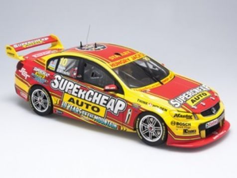 1:18 Biante 2014 Holden VF Commodore #10 Supercheap Auto Racing- Drivers: Tim Slade / Tony D'Alberto diecast model car