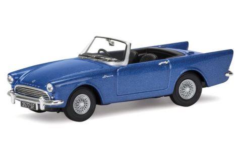 1:43 Corgi Sunbeam Alpine Series 2 Quartz Blue Metallic VA07007