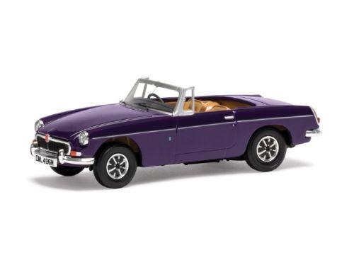1:43 Corgi MGB Roadster MkIII Acconite Purple