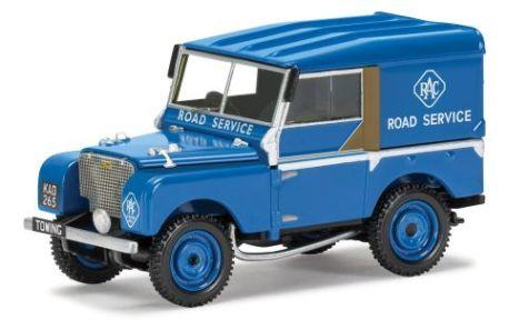 "1:43 Corgi Land Rover Series 1 80"" RAC Road Service Vehicle VA11116"