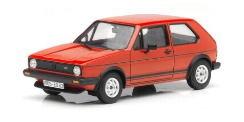 1:43 Vanguards Volkswagen Golf GTI Mk I Series 2 Mars Red LHD VA12003A