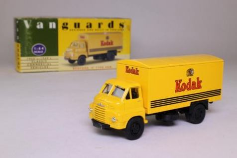 1:43 Vanguards Kodak Bedford 'S' Type Van VA8001
