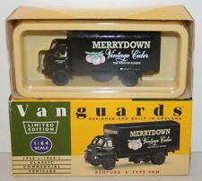 1:43 Vanguards Merrydown Cider Bedford 'S' Type Van VA8005