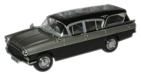 1:43 Oxford Diecast Vauxhall Cresta Friary Estate Silver Grey/Black VFE002