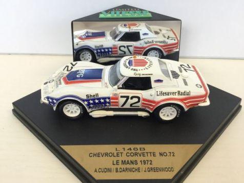 1:43 Vitesse Chevrolet Corvette 1971 Le Mans #1 Ecurie Leopard L116
