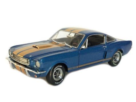 1:18 Exact Detail 1966 Shelby G.T. 350H Joe Lachut Car Blue w/Gold Stripes