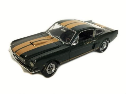 1:18 Exact Detail 1966 Shelby GT 350H Green w/Gold Stripes