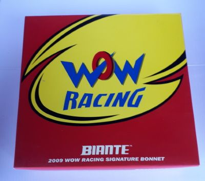 Signature Bonnet by Biante Model Cars.  1:10 scale model of the 2009 WOW Racing Holden VE Commodore Bonnet.  Driver Cameron McConville