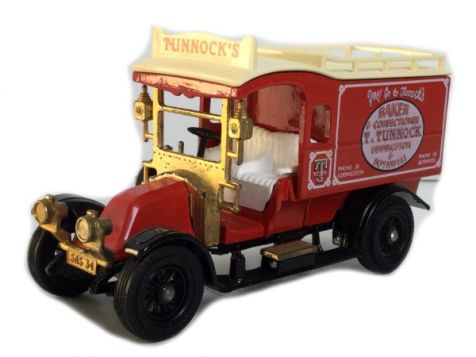 1:59 Matchbox 1931 Morris Courier KEMP'S BISCUITS Y-31