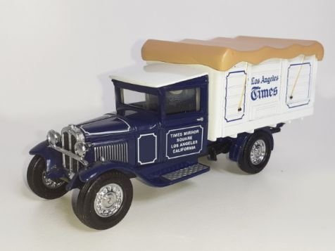 Matchbox Dodge Route Van 'NY Times' YPP04