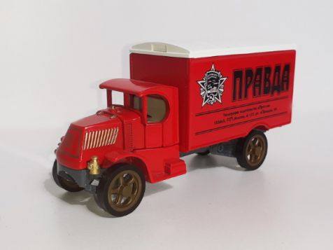 Matchbox 1932 Ford AA Truck 'The LA Times' YPP05