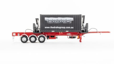1:50 Drake Collectibles Boxloader in Red